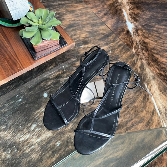 NWT Zara strappy sandals - The Row inspired